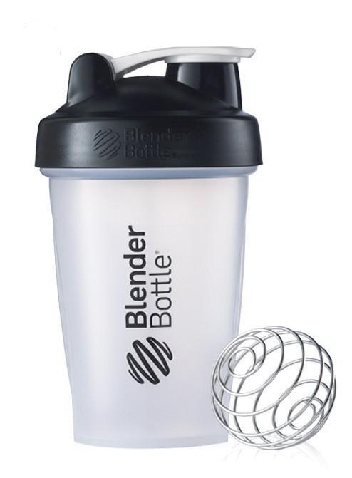 Шейкер спортивный BlenderBottle Classic 590ml (ORIGINAL) Trans Black