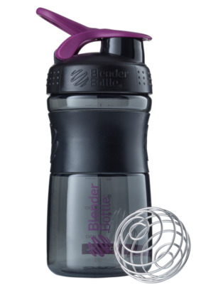 Шейкер спортивный BlenderBottle SportMixer 590ml (ORIGINAL) Black Plum
