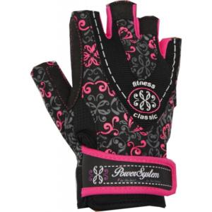 Перчатки Power System CLASSY PS-2910 Black-Pink, S