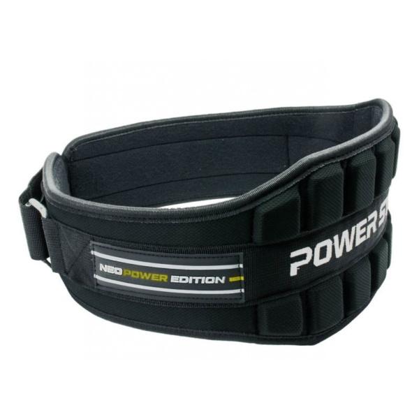 Пояс неопреновый для тяжелой атлетики Power System Neo Power PS 3230 Black/Yellow M